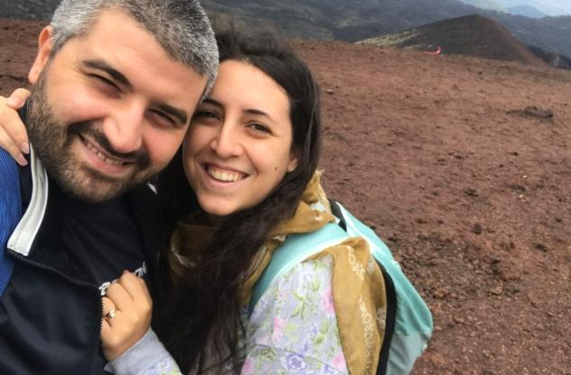 Fabrizio e Giulia Maria